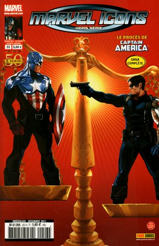 Marvel Icons HS 23 : Captain America