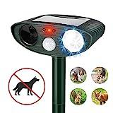 Best Altri sensori di movimento - QKa Ultrasonic Dog Repellent, Solar Powered & Waterproof Review