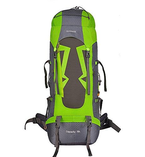 Imagen de  de senderismo,impermeable  de trekking con cubierta lluvia para paquete del alpinismo escalada marcha trekking camping deporte al aire libre