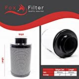 "Best Air Carbon Filters - Fox Hydroponics 4"" Inch (100mm x 300mm) Carbon Review"