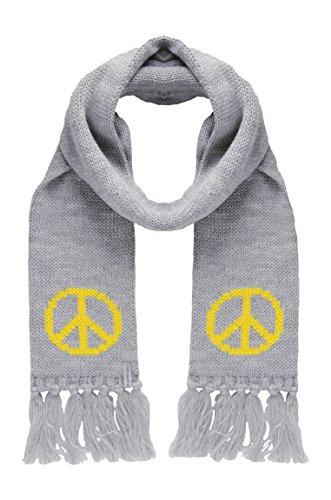d-generation Mädchen Strick Schal, Grau (light gray, gebraucht gebraucht kaufen  Wird an jeden Ort in Deutschland