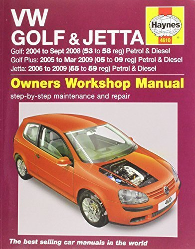 VW Golf & Jetta Service and Repair Manual (Haynes Service and Repair Manuals) (2014-08-13)