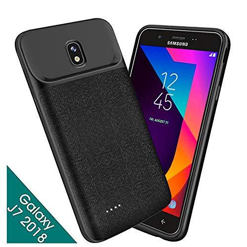7b3a5d24ef1 Samsung Galaxy J7 2018, estuche de batería NEWDERY 5000mAh Galaxy J7, Galaxy  J7V 2018