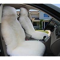 FM Car Lana Monolítica Amortiguador Cojín De Felpa Cuatro Estaciones Almohadilla Almohadilla Almohadilla Coche Suministros , Pure White,pure white