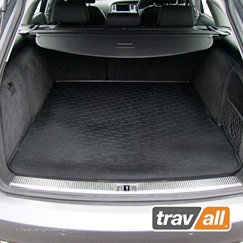 Travall® Liner Kofferraumwanne TBM1003- Maßgeschneiderte Gepäckraumeinlage mit Anti-Rutsch-Beschichtung