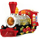 Bubble Engine Train Toy With Music, Lights, Real Action With Bubble Bottle For Long Funtime