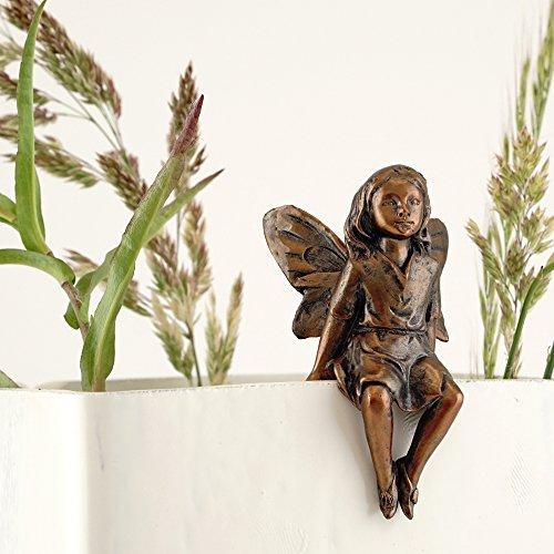Top Collection 4389Miniatur & Terrarium Little Fairy Garden Blumentopf Statue Hugger, klein