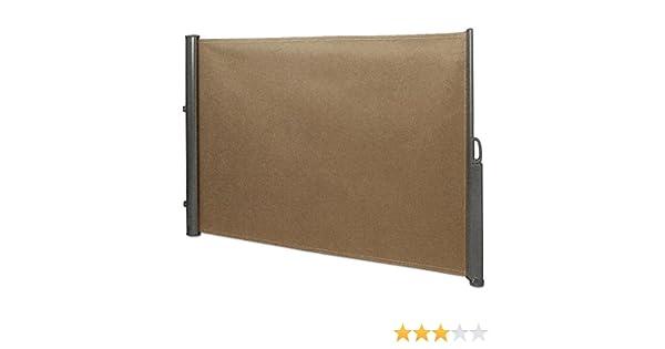 Seitenmarkise 1,8x3,5 m beige Seitenwandmarkise Sichtschutz Sonnenschutz NEU