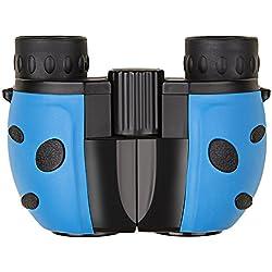 Prismáticos para Niños , 8x22 Telescopios Binoculares Compactos Ligeros para Conciertos Partido de Fútbol Camping Caza Montaña Pesca Senderismo campistas cazadores deportistas turistas Acampada vigilancia