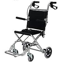 G&M Las sillas de ruedas para discapacitados en Drive Medical para mayores portátil plegable Sillas de ruedas de aleación de aluminio hay una bolsa de transporte