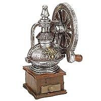 Vintage European Coffee Maker Machine Model Hand Grinder Model Display Ornament Craft Home Decor Christmas Gift