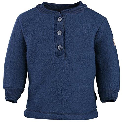 mikk-line Unisex Baby Woll-Shirt Sweatshirt, Blau (Blue Nights 287), 92