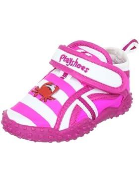 Playshoes Aqua-Schuh Krebs mit höchstem UV Schutz nach Standard 801 174782 - Sandalias de tela para niña