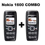 REYANSHMOB 4 MB, 900mAh 1.4-inch Mini Sim Nokia1600 Keypad Phone(Pack of 2)