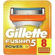 Gillette Fusion5 Power Razor Blades, 8 Refills New