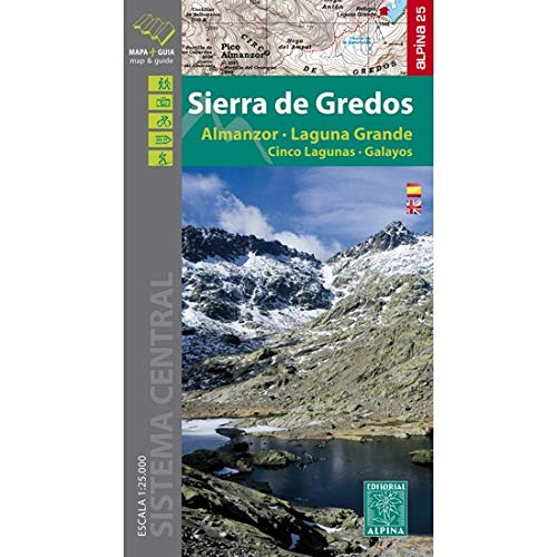 Wanderkarte Sierra Gredos 1:25 000 (Editorial Alpina Alpina, Band 1)