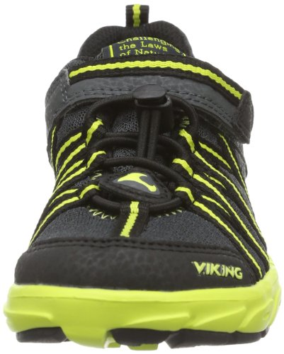 Viking Tripod 3-44310 Unisex-Kinder Sneaker Grau (charcoal/lime 7788)
