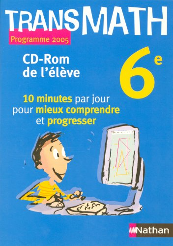 TRANSMATH 6E CD ROM ELEVE