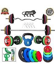 Kakss Professional Gym Training 10 Kg to 200 Kg Home Gym Se