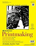 Pro-Art Strathmore Wandbild Druckgrafik Papier Pad 20,3cm x 27,9cm, 40Blatt