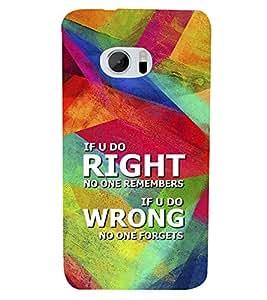 PrintVisa Designer Back Case Cover for HTC 10 :: HTC One M10 (pouch case cover holder bodypanels)