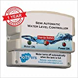 IoTfiers Plastic Manual on and Auto off Water Level Controller, Standard , White