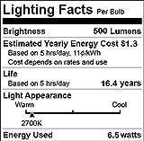 Chichinlighting 12Volt 7Watt LED Lampadina a basso voltaggio 12V off Grid Solar System marine RV caravan luci a LED (bianco caldo, confezione da)