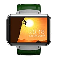 OOFAYWFD Smart watch, 2.2 inch IPS HD LED display - 1.3 megapixels - 3G Insert Card-wifi application download GPS positioning navigation Android phone watch,Green