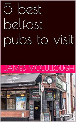 5 best belfast pubs to visit book cover