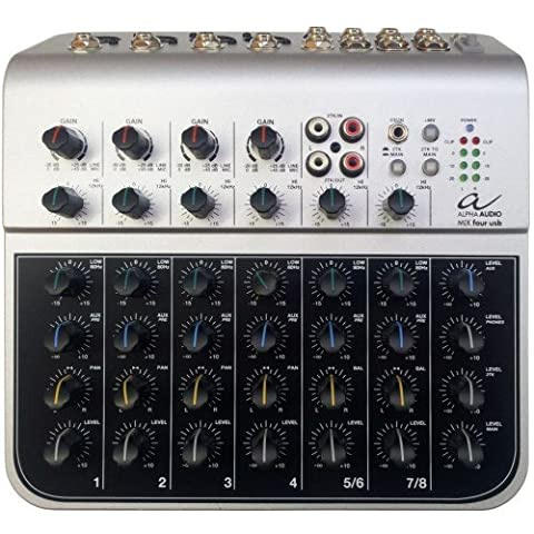 Alpha Audio 170300 Mix Table de Mixage USB