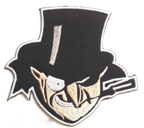 Der Pinguin Patch 10,2cm gesticktes Eisen auf Abzeichen -