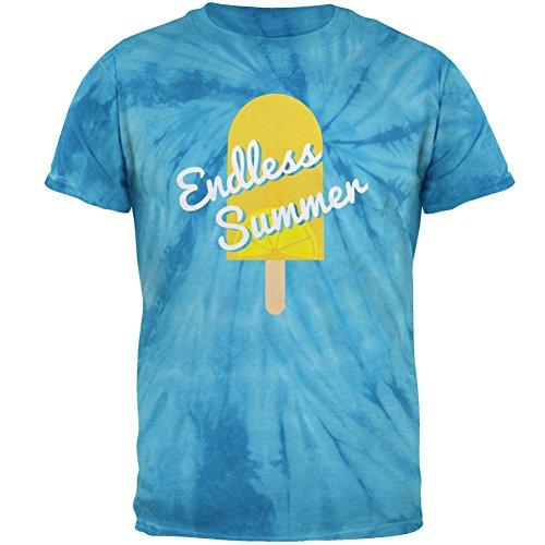 Sommersonne Eis Pop endlosen Sommer Herren T Shirt Pinwheel Blue