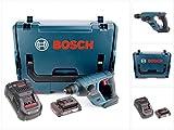 Bosch GBH 18 V-LI Compact Professional Bohrhammer Solo in L-Boxx mit GAL 1880 CV Schnellladegerät und 1x GBA 2 Ah Akku
