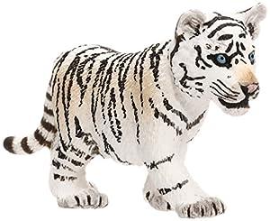 Schleich - Figura Cachorro de Tigre Blanco (14732)