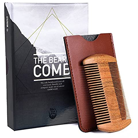 Beard Comb Wooden - Gift Set Small