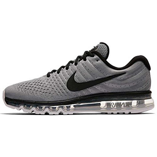 Nike Air Max 2017 Scarpe Casual Da Uomo 849559-001 Platino Cool Grey / Black-pure