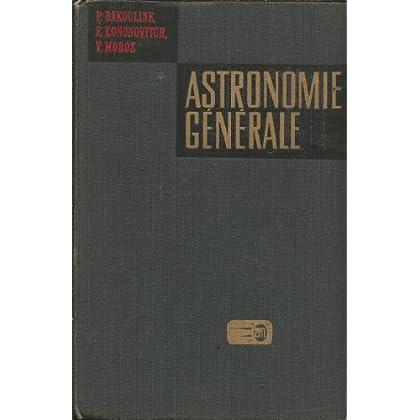 Astronomie générale