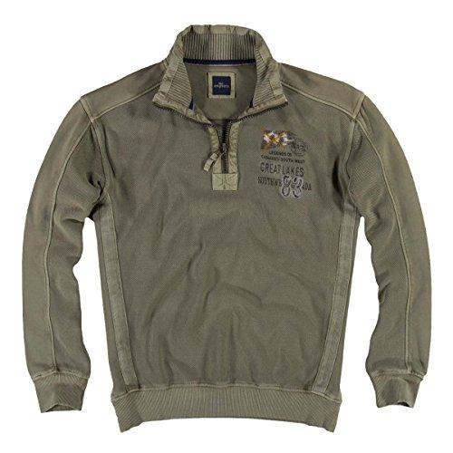 engbers Herren Pique Sweatshirt, 22862, Beige in Größe XL (Pigment-piqué)