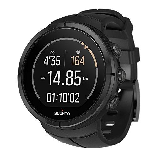 Suunto Spartan Ultra Titan HR Reloj Gps con Monitorización de Frecuencia Cardíaca, Unisex Adulto, All Black, Talla Única