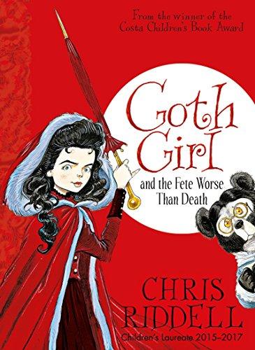 Goth Girl And The Fete Worse Than Death por Chris Riddell