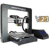 Wanhao Duplicator i3 3D-Drucker V2.1 mit Stahlrahmen