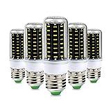 5×GreenSun 4W E27 LED Energiespar Mais Birnen SMD 72*4014 Hochleistungs Lampen 320LM 3000K Warmweiß Wechselstrom 30W Glühlampe Equivalent