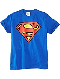 DC Comics Boys Official Superman Shield Kids T-Shirt