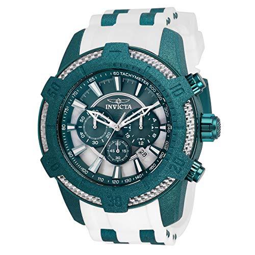 Invicta Pro Diver Reloj de Hombre Cuarzo Correa de Silicona Color Blanco 26609