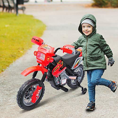 a869e99a9 Moto Electrica Infantil Bateria 6V Recargable Niños 5 Años Cargador y  Ruedas.