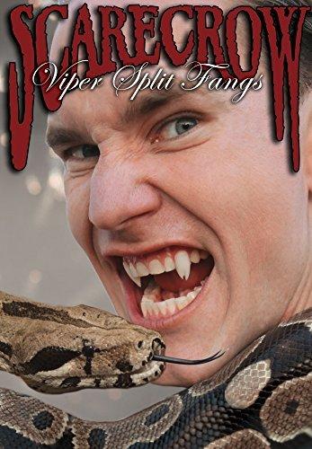 (Vogelscheuche 'TM' Viper Split Zähnen falschen Zähne Halloween für Fancy Kleid)