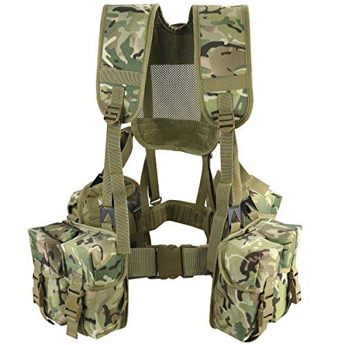 Kombat UK Unisexe en Toile Cadet Plce Set (6 pièces), BTP (Motif Terrain Britannique), Taille Unique