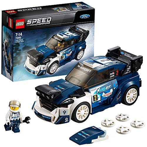 LEGO- Star Wars Ford Fiesta MSport WRC, Multicolore, 75885
