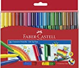 Faber-Castell 155520 - Filzstift Connector Pen, 20er Kartonetui