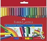 Faber-Castell 155520 - Filzstift Connector Pen, 20er Kartonetui, 1 Stück